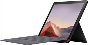Microsoft, Surface, Pro, 7, -, Black, Intel, i5-1035G4, 8GB, RAM, 256GB, SSD, 12.3, Display, WiFi, 6, BT, Windows, 10, Home, 1, Year,