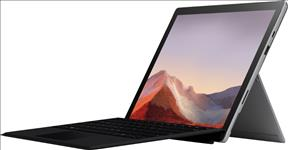 Microsoft, Surface, Pro, 7, -, Platinum, Intel, i7-1065G7, 16GB, RAM, 256GB, SSD, 12.3, Display, WiFi, 6, BT, Windows, 10, Home, 1,
