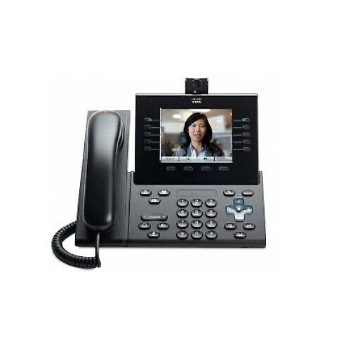 Cisco, Unified, IP, Phone, 9951, Charcoal, Standard, Handset,