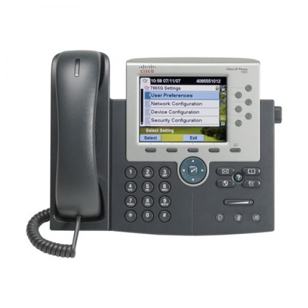 Cisco, UC, 7965, Phone, Gigabit, Ethernet/Colour, LCD,