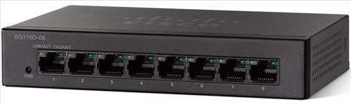 Cisco, SG110D-08, 8-PORT, GIGABIT, DESKTOP, SWITCH,