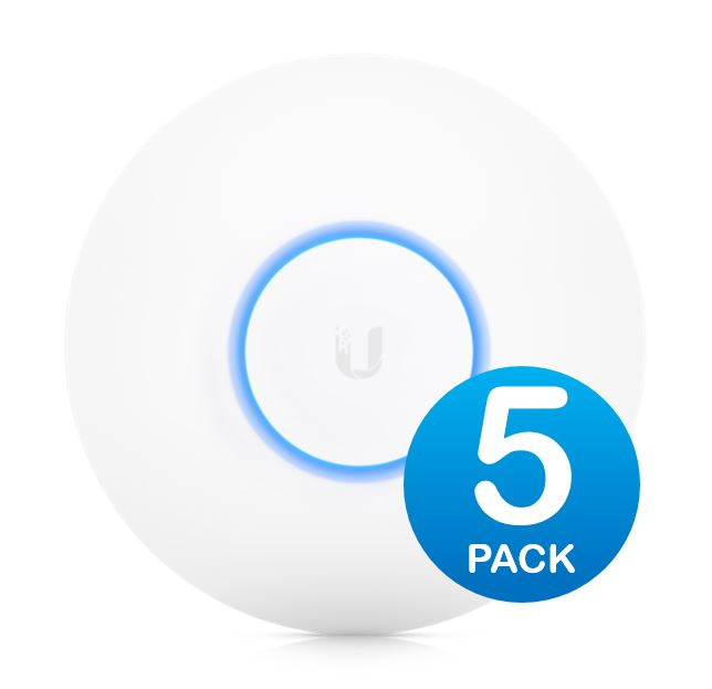 Ubiquiti, UniFi, Wave, 2, Dual, Band, 802.11ac, High, Density, AP, 5, Pack, -, Does, Not, Include, PoE, Injector,