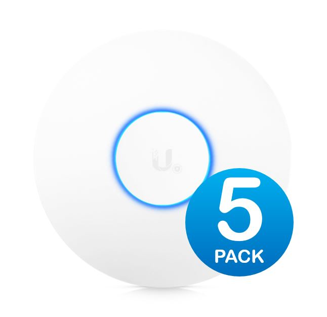 Ubiquiti, UniFi, Wave, 2, Dual, Band, 802.11ac, AP, with, Security, &, BLE, 5, Pack,