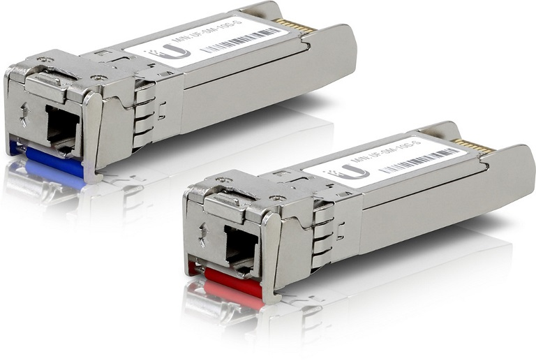 Ubiquiti, UFiber, SFP+, Single-Mode, Module, 10G, BiDi, 2-pack,