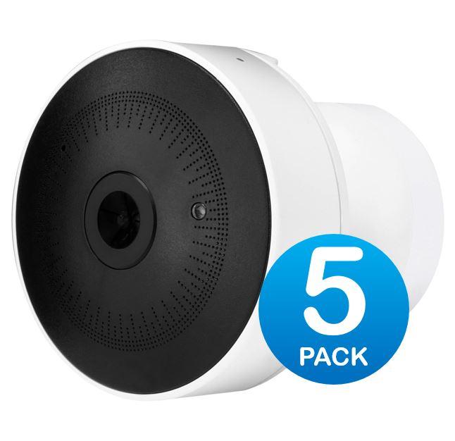 Ubiquiti, UniFi, Video, G3-MICRO, Cam, Micro, 1080p, Full, HD, 5-Pack,