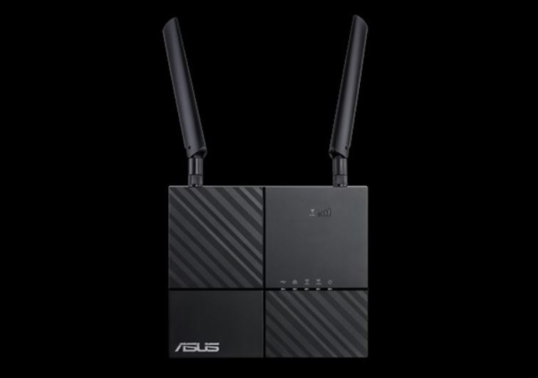 ASUS, 4G-AC53U, AC750, Dual-Band, LTE, Wi-Fi, Modem, Router, features, 4G, LTE, Category, 6, technology, with, SIM, card, slot,