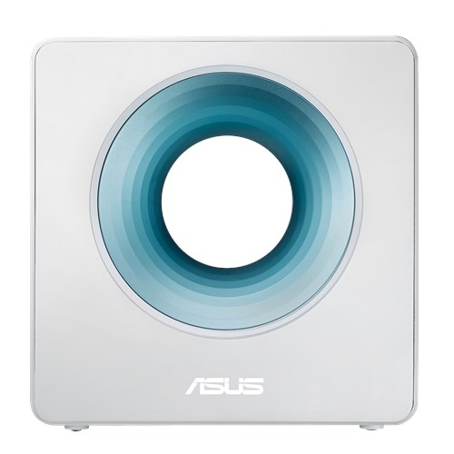 ASUS, Blue, Cave, AC2600, Dual, Band, WiFi, Router, for, Smart, Home, complete, network, security, with, AiProtection, works, with, Amaz,