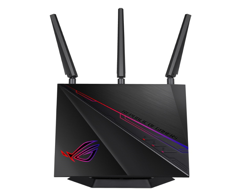 ASUS, ROG, Rapture, GT-AC2900, WiFi, Gaming, Router, Certified, NVIDIA, GeForce, NOW, Recommended, Supports, Triple-Level, Game, Acce,