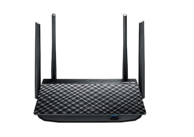 ASUS, RT-AC58U, Gigabit, Wireless, Router, AC1300, MU-MIMO, 4, x, LAN, Ports, 2, x, USB, 4, x, High, Performance, Antennas, Beamformi,