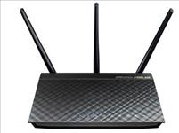 ASUS, RT-AC66U, 802.11ac, (Wi-Fi, 5), Dual-Band, Wireless-AC1750, Gigabit, Router,