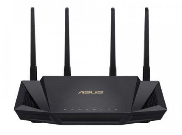 ASUS, RT-AX3000, Dual, Band, WiFi, 6, (802.11ax), Router, MU-MIMO, OFDMA, AiProtection, Pro, ASUS, AiMesh,