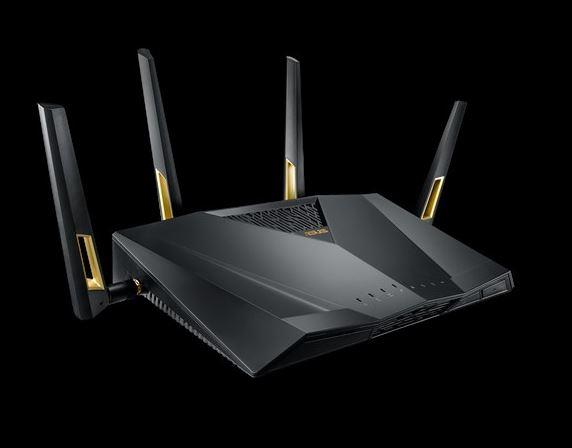 ASUS, RT-AX88U, AX6000, Dual, Band, 802.11ax, WiFi, Router, MU-MIMO, OFDMA,