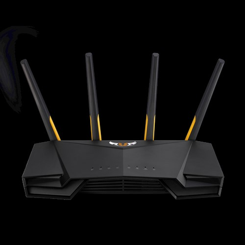 ASUS, TUF-AX3000, AX3000, Dual, Band, Wi-Fi, 6, (802.11ax), Gaming, Router, (2402Mbps+574Mbps), MU-MIMO, OFDMA, AiProtection, Pro,