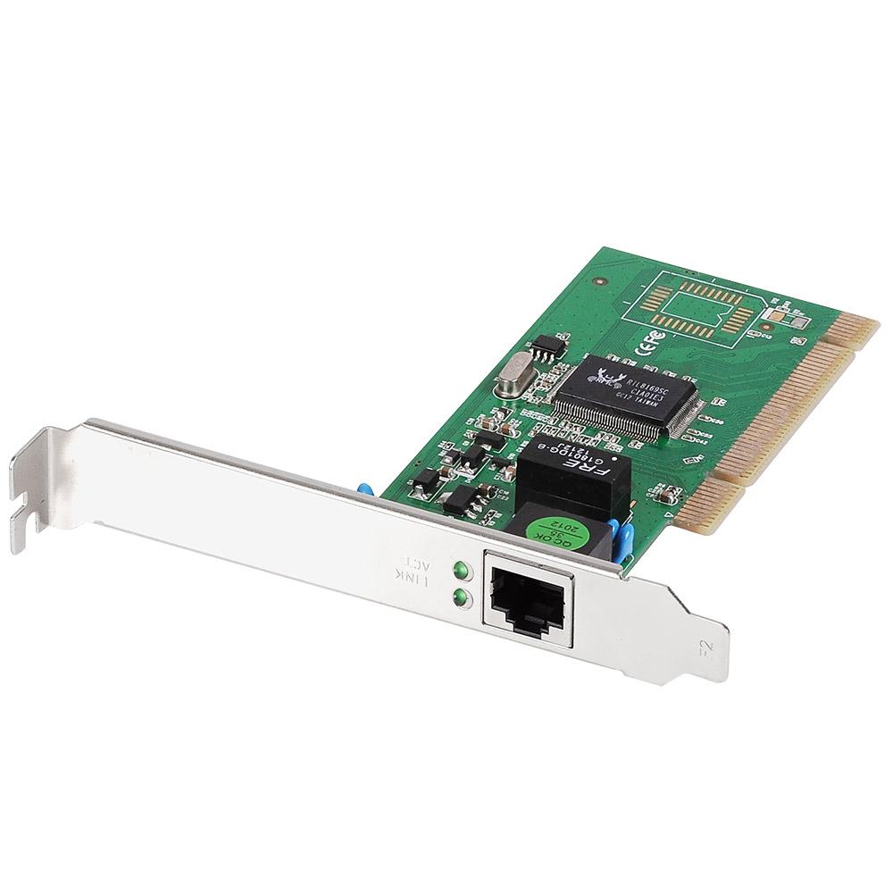 Edimax, Gigabit, Ethernet, 32-bit, PCI, Card, with, low, profile, bracket,