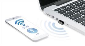 Edimax, 2-in-1, N150, Wi-Fi, &, Bluetooth, 4.0, Nano, USB, Adapter,