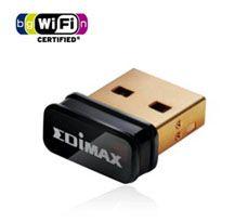 Edimax, N150, USB, Nano, Adapter, Wireless, LAN/802.11bgn/W8, Comp,