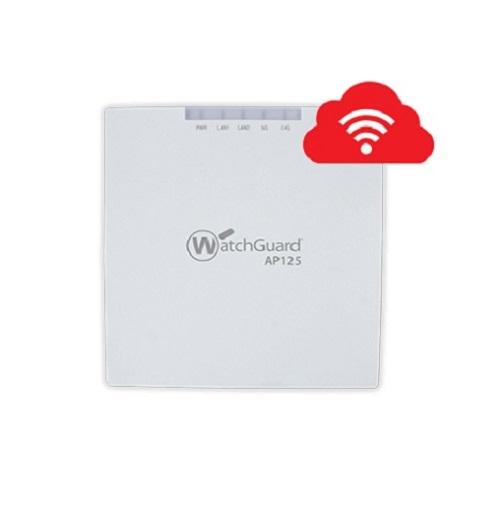 WatchGuard, AP125, and, 3-yr, Secure, Wi-Fi,