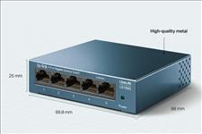 TP-Link, LS105G, 5-Port, 10/100/1000Mbps, Desktop, Switch,
