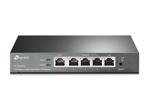 TP-LINK, VPN, ROUTER, FIREWALLCABLE/DSL, 10/100/1000, (4, LAN, &1, WAN), 20, X, VPN, 5YR,