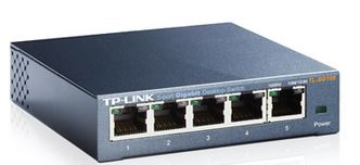 TP-Link, SG105, 5port, Switch, Desktop, Gigabit, Steel, Case,