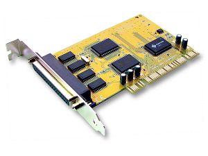 Sunix, 4, Port, Serial, PCI, Card, SER5056A, 4, ports, DB9M/25M,