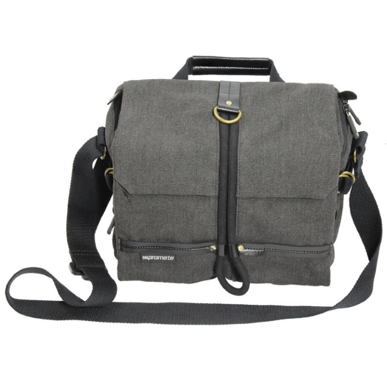Promate, xPlore-M, Contemporary, DSLR, Camera, Bag/adjustable, storage/water, resistant, cover-, Medium,