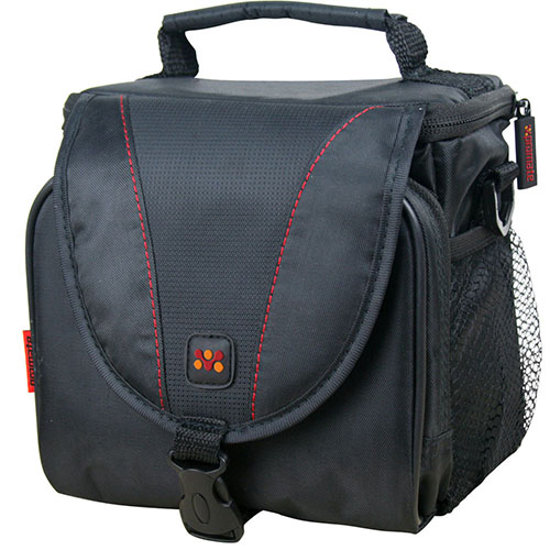Promate, xPose.L, Compact, Camera, case, with, Front, pocket, and, lanyard, Strap, -, Large,