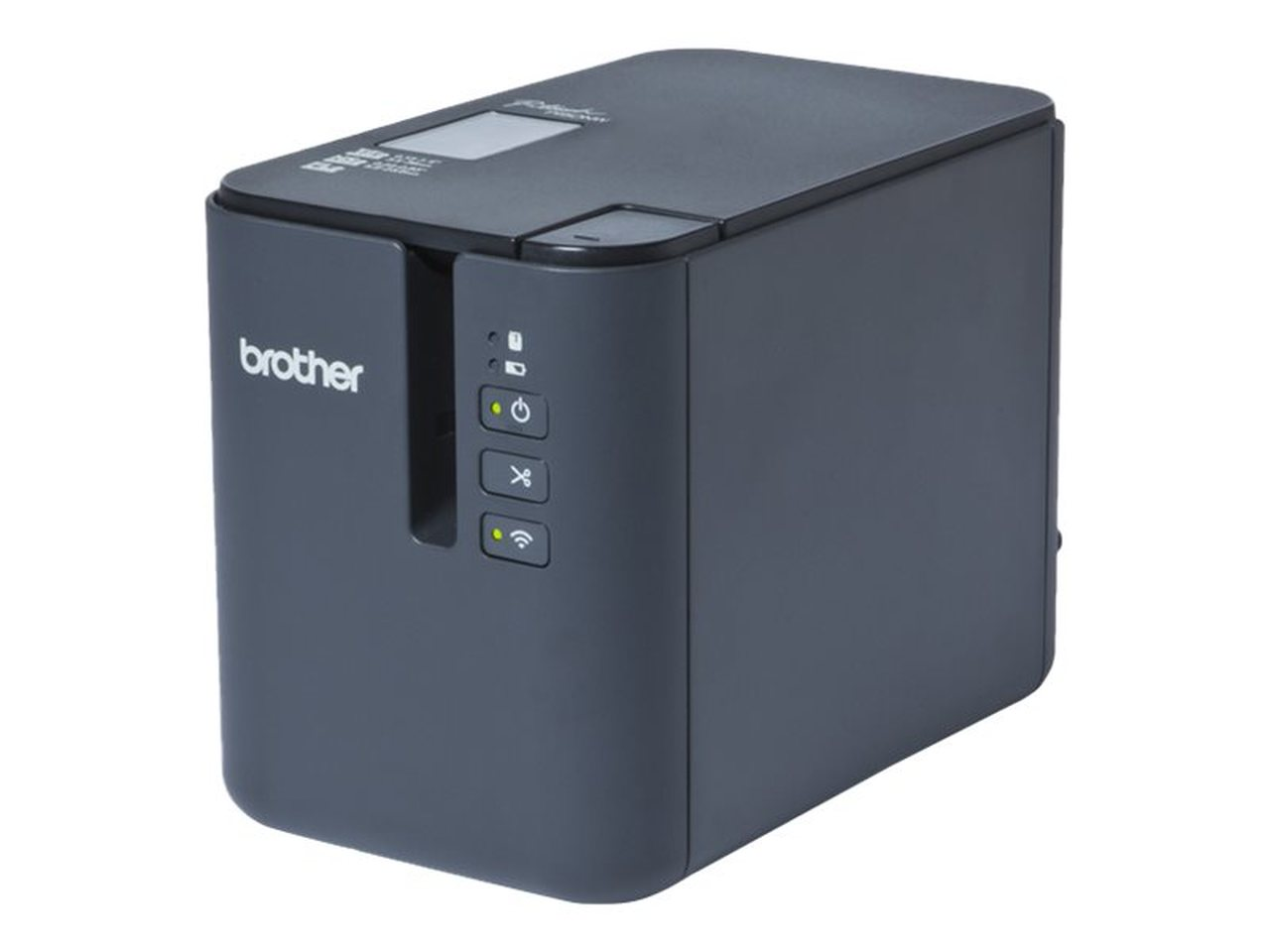 Brother, PT-900W, ADVANCED, PC, CONNECTABLE/WIRELESS, LABEL, PRINTER, 3.5-36MM, TZE, TAPE, MODEL,