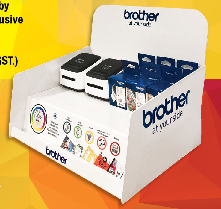 Brother, VC-500W, Colour, Label, Printer, Starter, Kit, Bundle, -, Save, over, 15%,