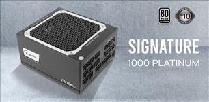 Antec, Signature, 1000w, 80+Platinum, Fully, Modular, FDB, 135mm, Fan, Zero, RPM, Phase, Wave, Design, OC-LINK, Server, Grade, 10, y,