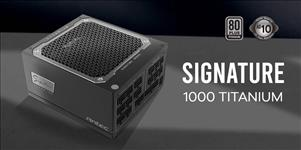 Antec, Signature, 1000w, 80+Titanium, Fully, Modular, FDB, 135mm, Fan, Top, Grade, Japanese, Capacitors, OC-LINK., 10, years, warrant,
