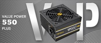 Antec, VP550P, PLUS, 500w, PSU., 80+, @, 85%, Efficiency, AC120-240V, Continuous, Power, 120mm, Silent, Fan., 3, Years, Warranty,
