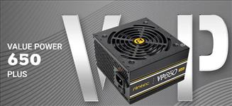 Antec, VP650P, PLUS, 500w, PSU., 80+, @, 85%, Efficiency, AC120-240V, Continuous, Power, 120mm, Silent, Fan., 3, Years, Warranty,