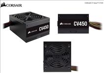 Corsair, 450W, CV, Series, CV450, 80, PLUS, Bronze, Certified, Power, Supply,