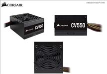 Corsair, 550W, CV, Series, CV550, 80, PLUS, Bronze, Certified, Power, Supply,
