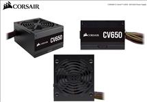 Corsair, 650W, CV, Series, CV650, 80, PLUS, Bronze, Certified, Power, Supply,
