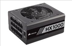 Corsair, 1000W, HX, 80+, Platinum, Fully, Modular, 135mm, FAN, ATX, PSU, 10, Years, Warranty,