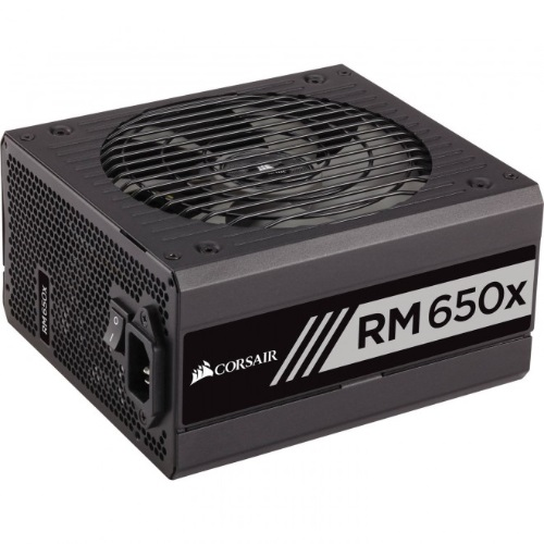 Corsair, 650W, v2, RMX, 80+, Gold, Fully, Modular, 135mm, FAN, ATX, PSU, 10, Years, Warranty,
