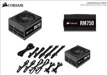 Corsair, 750W, RM, 80+, Gold, Fully, Modular, 135mm, FAN, ATX, PSU, 10, Years, Warranty,