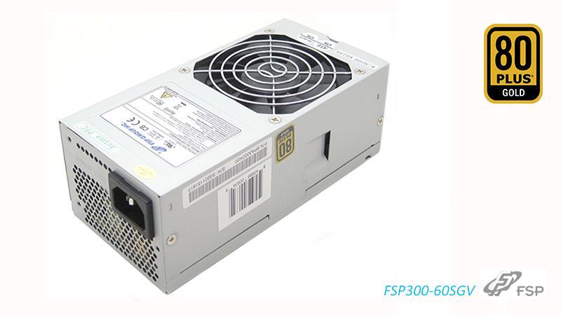 FSP, 300W, 80+, Gold, OEM, 80mm, FAN, TFX, PSU, 1, Year, Warranty, for, Chenbro, PC,