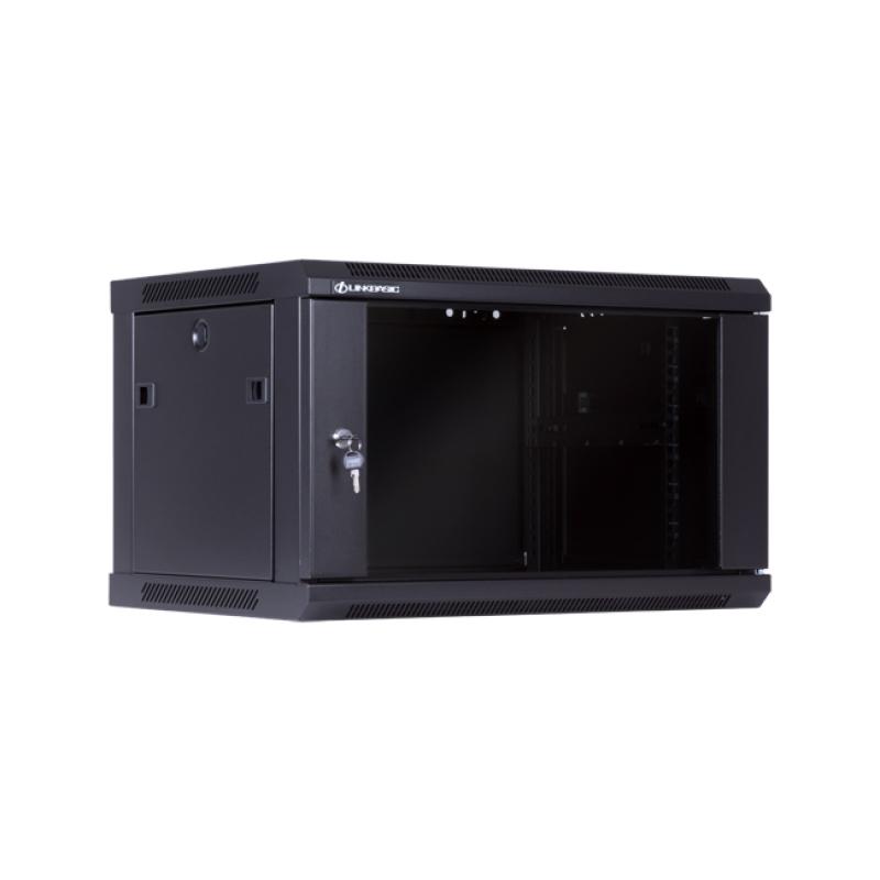 LinkBasic, 6RU, Wall, Mount, Cabinet, Flat, Pack, (600mm, x, 450mm, x, 368mm),