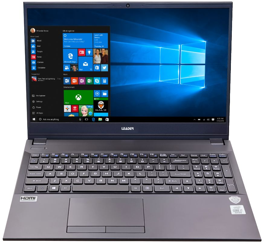 Leader, Companion, 509, Notebook, 15.6, Full, HD, Intel, I7-10510U, 8GB, 500GB, SSD, DVD, Windows, 10, Home, 2, Year, Warranty, Bl,