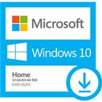 MICROSOFT, WINDOWS, 10, HOME, (32/64, BIT), -, (ESD), ELECTRONIC, LICENSE,