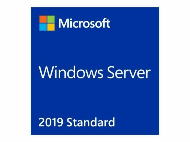 Microsoft, WIN, SVR, STD, 2019, 64BIT, OEI, DVD, 16, CORE,