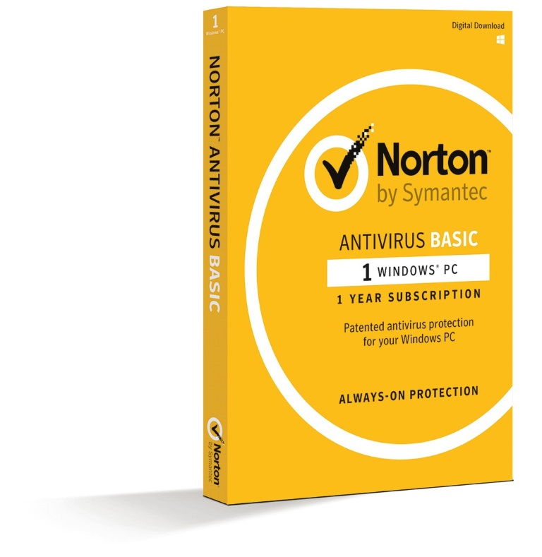 Norton, Antivirus, Basic, 1.0, 1, User, 1, Device, 12M, Subscription, -, Retail, Box,
