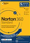 Norton, 360, Standard, 10GB, 1, User, 5, Devices, 12, Months, PC, MAC, Android, iOS, DVD,