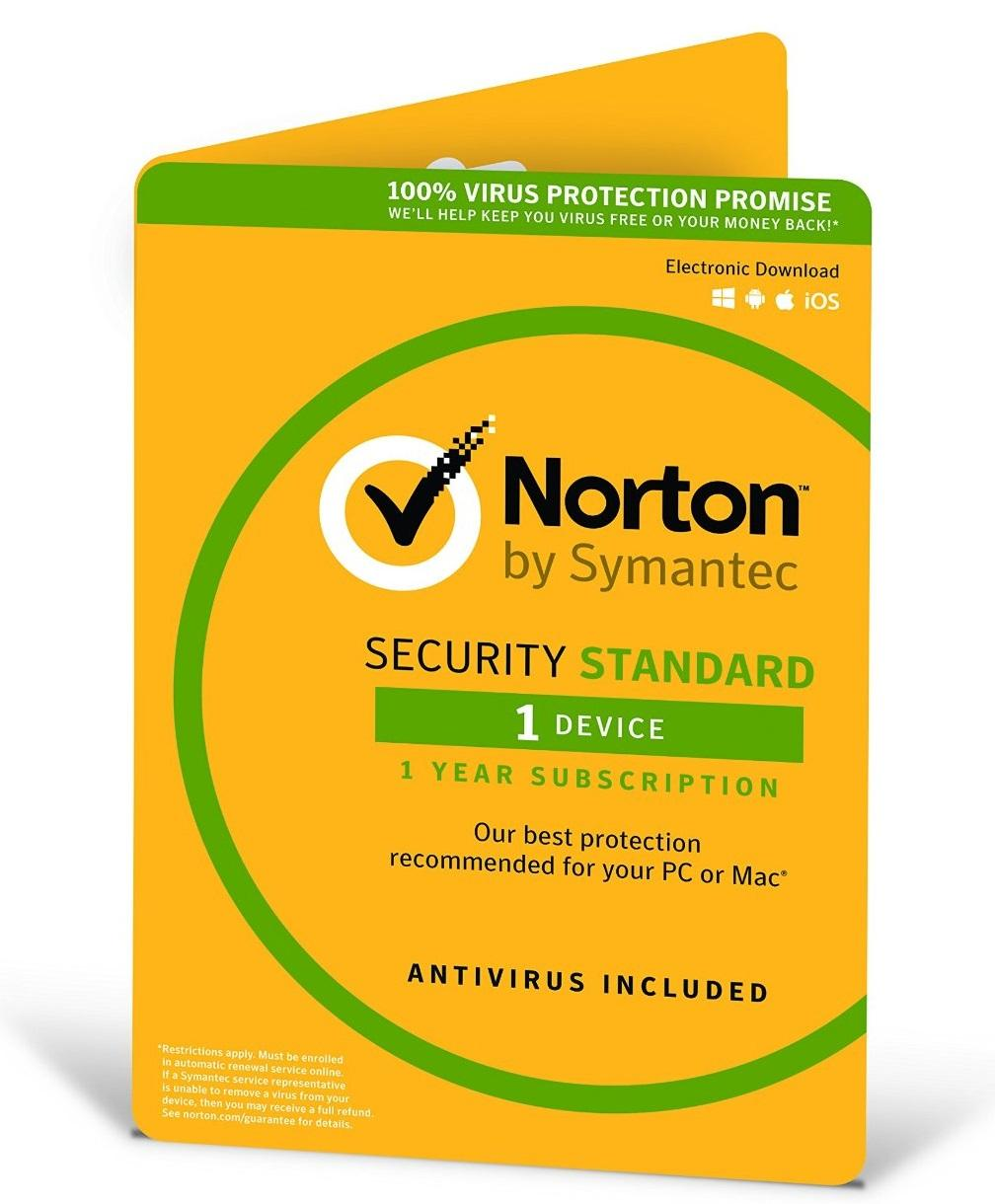 Norton, Security, 2018, 1, Device, 12, Months, PC, MAC, Android, iOS, OEM, -, ESD, Version, -, Keys, via, Email,