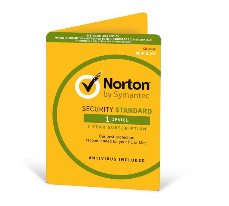 Symantec, Norton, Security, Standard, 1, Device, 1, Year, OEM,