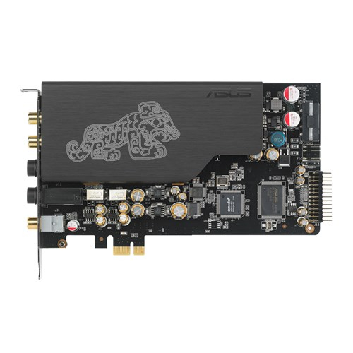 ASUS, Essence, STX, II, PCI-e, Sound, card, 124dB, SNR, TCXO,