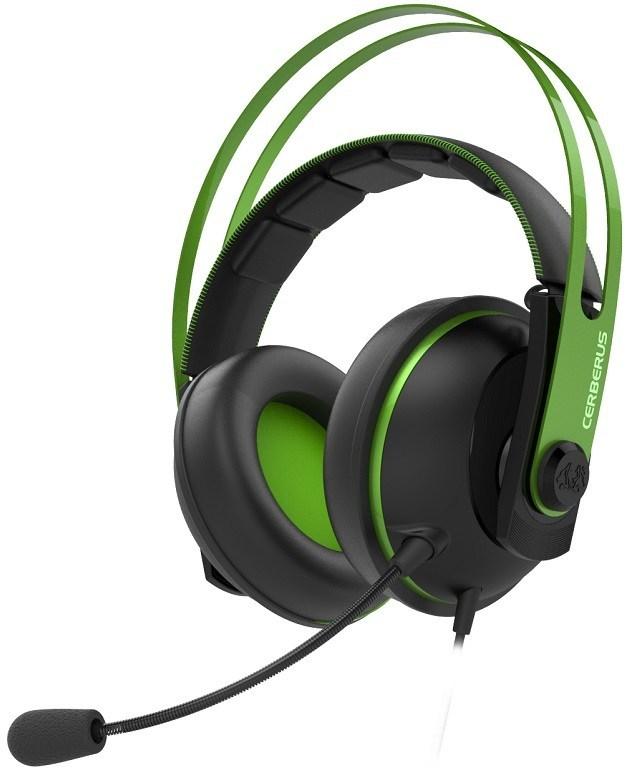 ASUS, Cerberus, V2, (Green), gaming, headset,